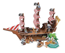 Load image into Gallery viewer, Pirate Ship 3D Puzzle - Melissa & Doug