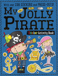My Sticker & Activity Book: Jolly Pirate