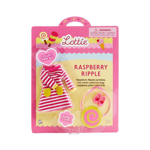 Raspberry Ripple Doll Outfit - Retro Lottie