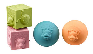 Sophie La Girafe: So Pure Ball & Cube Set