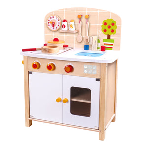 Gourmet Play Kitchen - Tooky Toy
