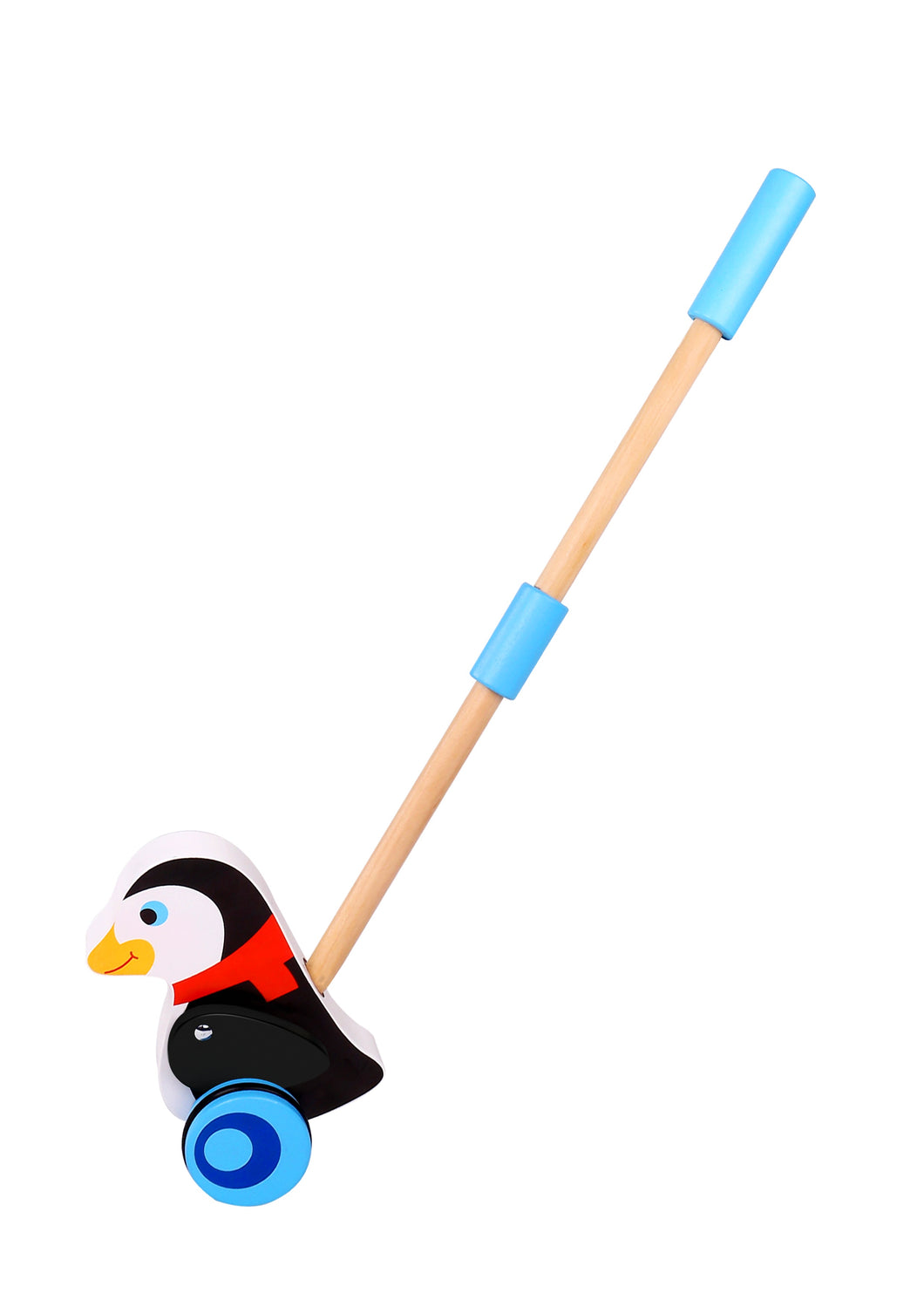 Push-Along Penguin - Tooky Toy