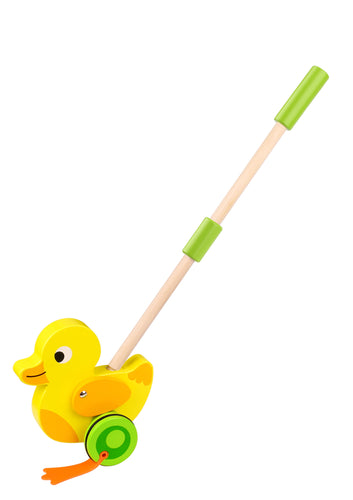 Push-Along Duck - Tooky Toy