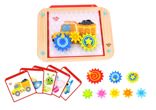 Wooden Looney Gears - Tooky Toy