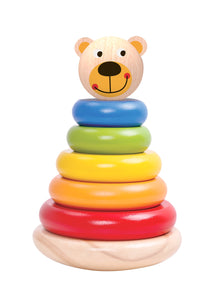 Rainbow Bear Stacker - Tooky Toy