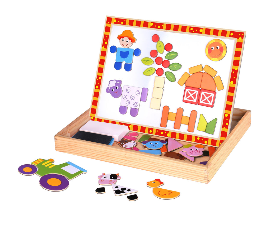 Magnetic Farm Puzzle Set - Tooky Toy