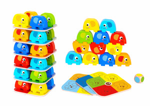 Elephant Stacking - 46 pc - Tooky Toy