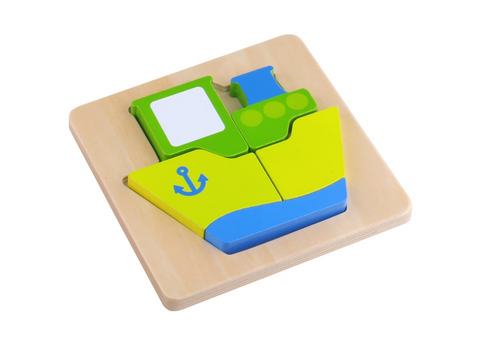 Mini Puzzle - Ship - Tooky Toy