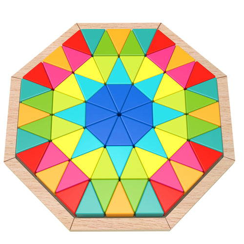 Wooden Kaleidoscope Puzzle - Tooky Toy