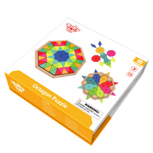 Load image into Gallery viewer, Wooden Kaleidoscope Puzzle - Tooky Toy