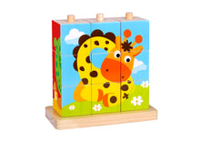 Load image into Gallery viewer, Animal Stacking Puzzle - Tooky Toy