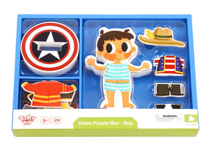 Magnetic Dress up - Boy - Tooky Toy