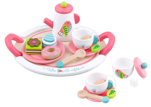 Wooden Afternoon Tea Set