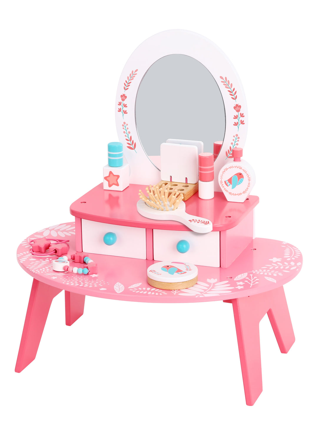 Wooden Dressing Table - Tooky Toy