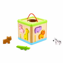 Load image into Gallery viewer, Animal Sorting Box - Tooky Toy