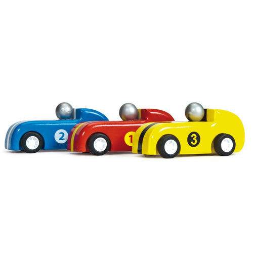 Pull Back Racers - Set of 3 - Le Toy Van