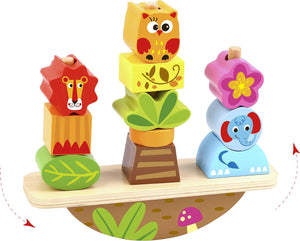 Wooden Balance Stacker - Tooky Toy