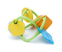 Load image into Gallery viewer, Twist Teether Toy - Green Toys (100% Recycled Plastic)