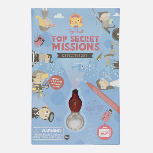 Top Secret Missions - Detective Set - Tiger Tribe