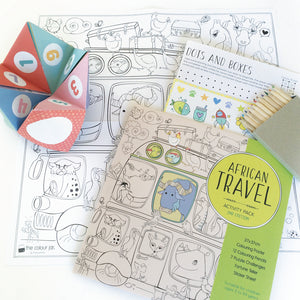 Activity Pack - African Travel - The Colour Jar
