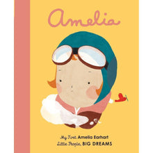 Load image into Gallery viewer, Amelia Earhart by Maria Isabel Sanchez Vegara - Board Book