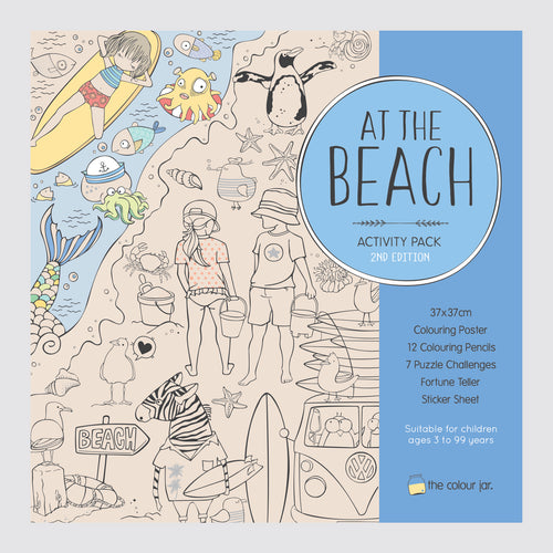 Activity Pack - At The Beach - The Colour Jar