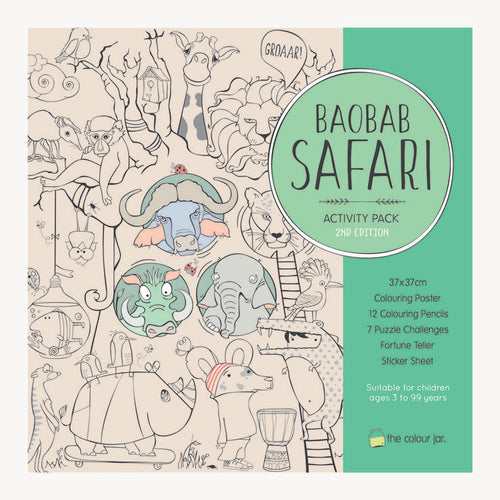 Activity Pack - Baobab Safari - The Colour Jar