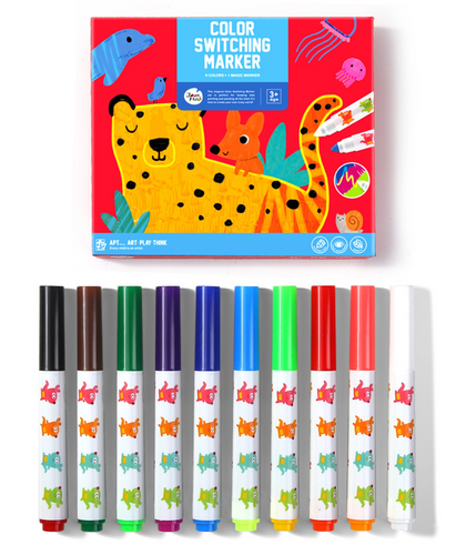 Magic Colour Switch Markers - Jar Melo