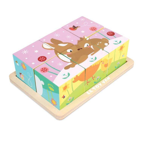 All Seasons Cube Puzzle - Le Toy Van