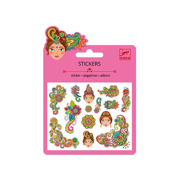 Pattern Mini Stickers (glitter) - Djeco