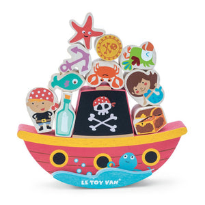 "Pirate Balance ""Rock 'n Stack"" - Le Toy Van"