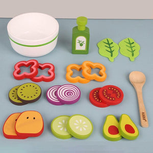 Wooden Salad Set