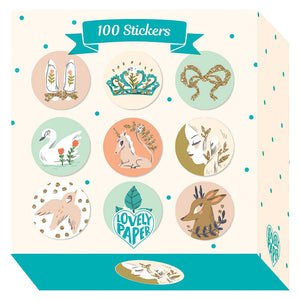 100 Lucille Stickers - Djeco