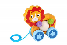Load image into Gallery viewer, Pull-Along Lion - Tooky Toy