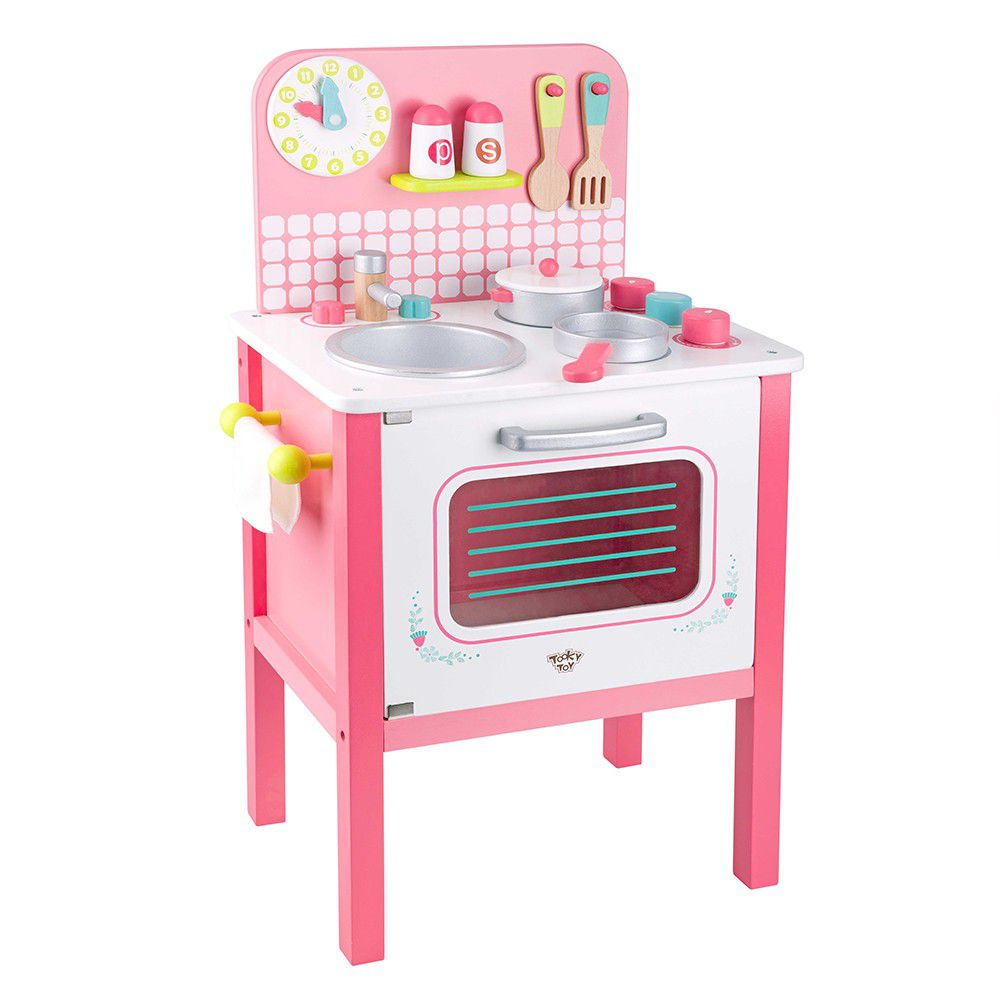Pink Kitchen Set - Large - Tooky Toy
