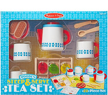 Load image into Gallery viewer, Wooden Steep & Serve Tea Set - Melissa & Doug