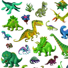 Load image into Gallery viewer, Dinosaur Stickers (160 pc) - Djeco