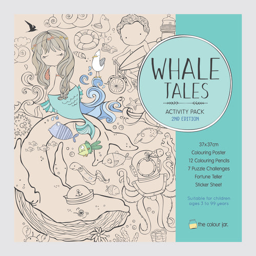 Activity Pack - Whale Tales - The Colour Jar