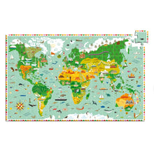 Load image into Gallery viewer, Monuments of the World - 200 Piece Puzzle + Booklet - Djeco