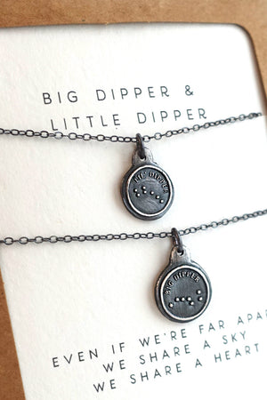 Big Dipper & Little Dipper Necklace
