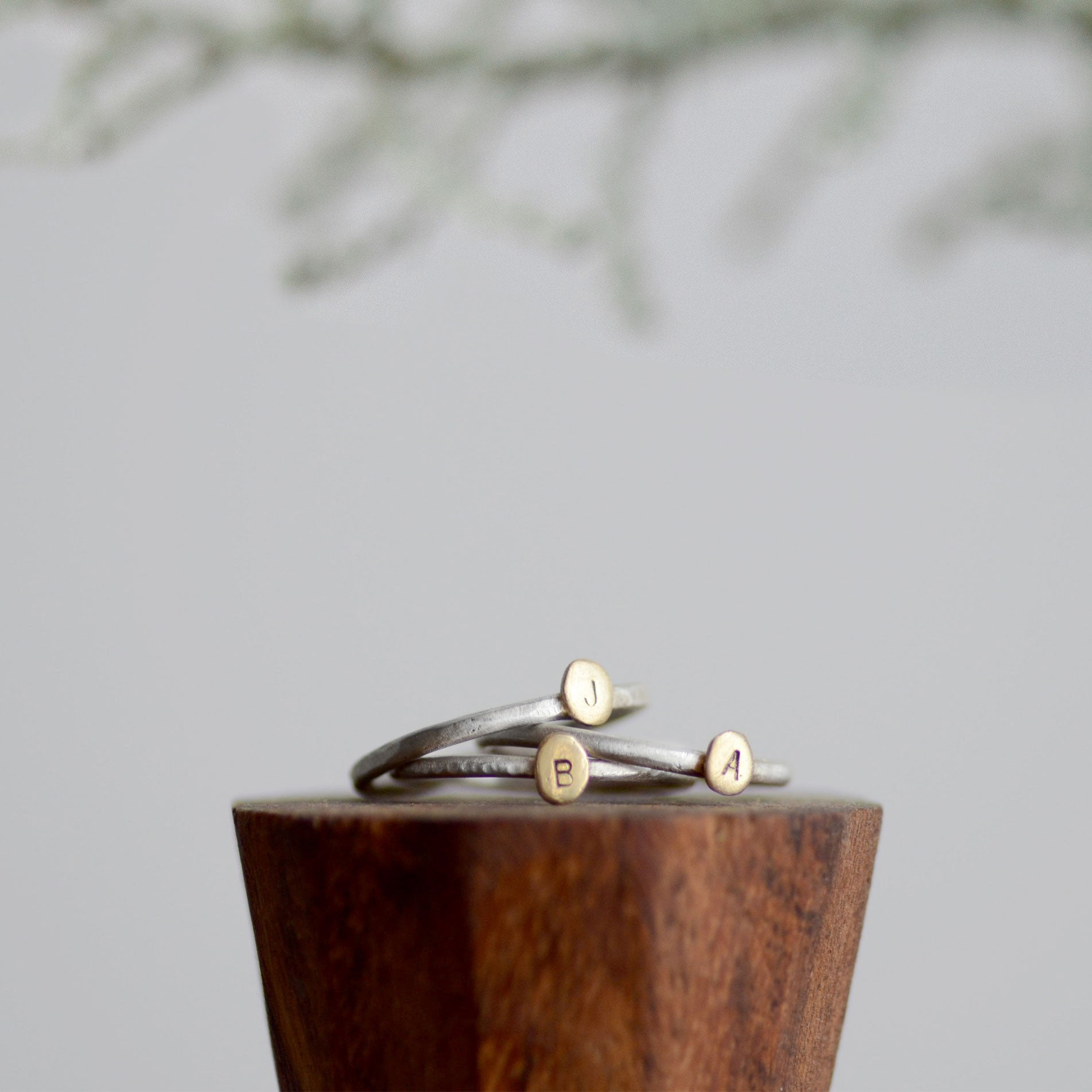 Drop of Gold Stacking Rings *Discounts for multiples!*