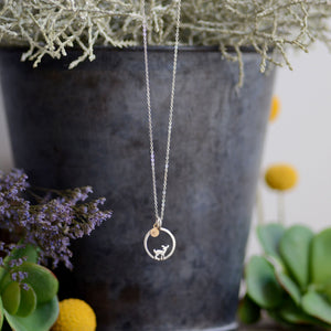 14K Gold or Sterling SIlver Initial Add-on