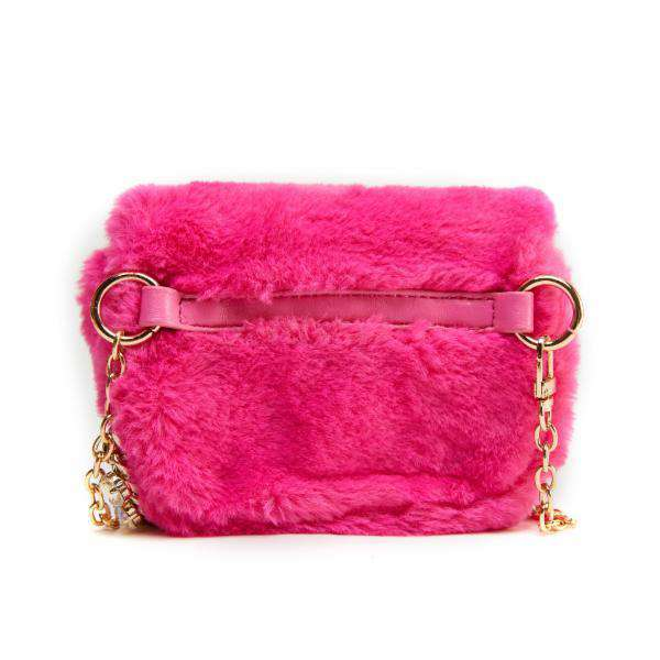 LIKE DREAMS Mini Lint Satchel Crossbody