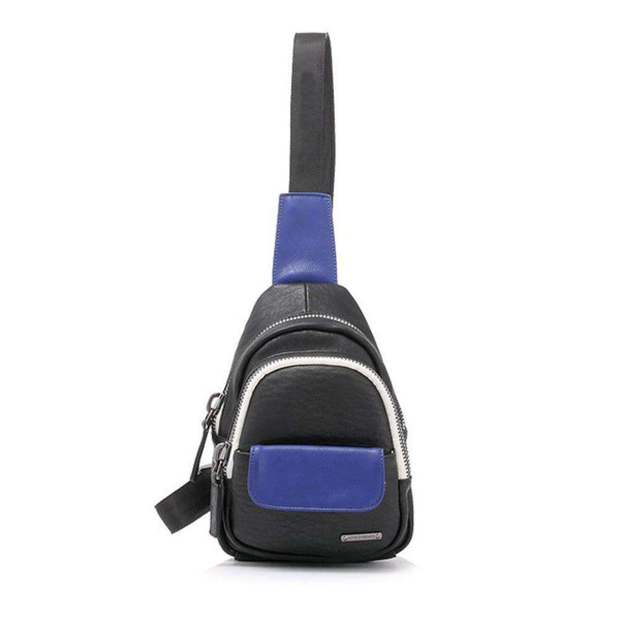 LIKE DREAMS Multi Pocket Crossbody Backpack
