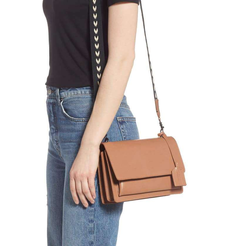 LIKE DREAMS Basic Envelope Shoulder Bag
