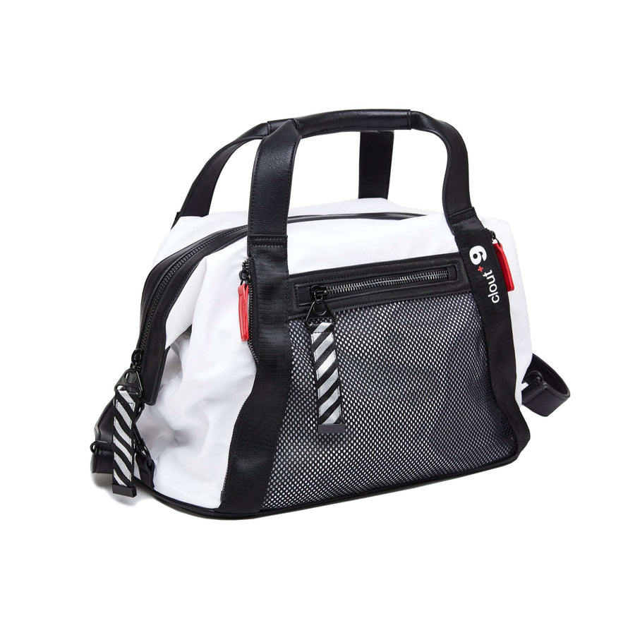 LIKE DREAMS Mesh Nylon Clout +9 Gym Bag