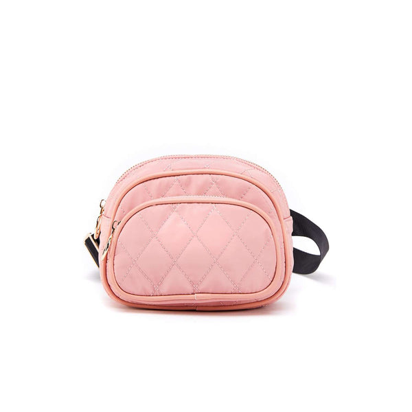 LIKE DREAMS Quilted Nylon Fanny Pack