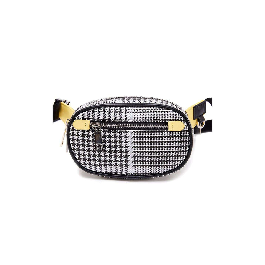 LIKE DREAMS Plaid Capsule Belt Bag