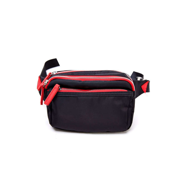 LIKE DREAMS Two-Tone Nylon Fanny Pack