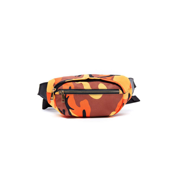 LIKE DREAMS Canvas Camo Fanny Pack
